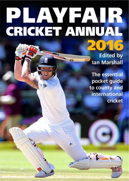 Playfair Cricket Annual 2016